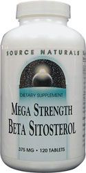 Beta Sitosterol, 375mg, 60 tablets