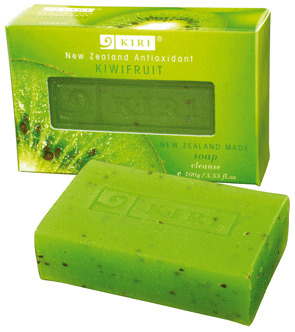 KIWIFRUIT CLEANSING BAR