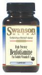 Benfotiamine, Swanson, 60 capsules, 160mg
