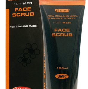 Manuka Honey Skincare, Face Scrub for Men