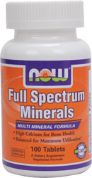 Full Spectrum Minerals 100 tabs