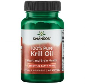 Krill Oil 60 x 500 mg softgel caps